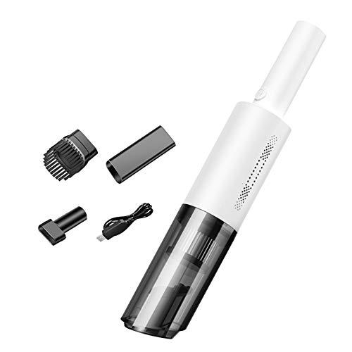 LOVIVER Aspiradora inalámbrica de 120W 6000pa, Herramienta de Limpieza en seco y en húmedo, con Filtro HEPA Lavable - Blanco