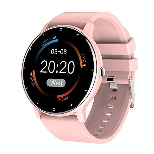 XYJ Kailangde Smart Watch para teléfonos Android y teléfonos iOS Compatible iPhone Samsung IP67 Natación A Prueba de Agua SmartWatch Fitness Tracker Fitness Watch Monitor de Ritmo cardíaco Monitor de