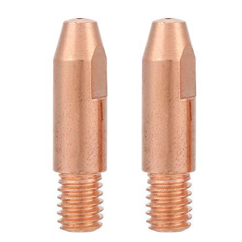 Punta de contacto del soplete de soldadura, punta de contacto de prueba Prueba de calor para trabajos de soldadura para centro de mecanizado para soldador(0.8)