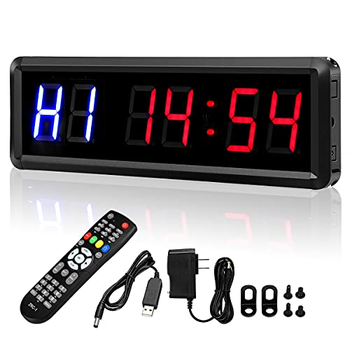Seesii Interval Timer Count Down/Up Clock