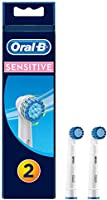 Oral-B Sensitive Replacement Electric Toothbrush Heads Refills, 2 pack