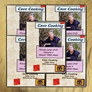 Cave Cooking: Wilderness and Survival Cooking DVD Library (5 DVD Set) by Karen Hood
