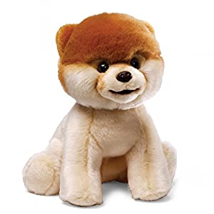 "GUND 4029715 World's Cutest Dog Boo Stuffed Animal Plush, 8"", Multicolor, small - 41AxT9EjfPL - GUND 4029715 World's Cutest Dog Boo Stuffed Animal Plush, 8″, Multicolor, small"