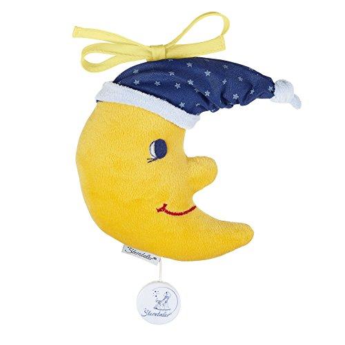 Sterntaler Spieluhr, Kuschel-Mond, Integriertes Spielwerk, Größe: S, Gelb