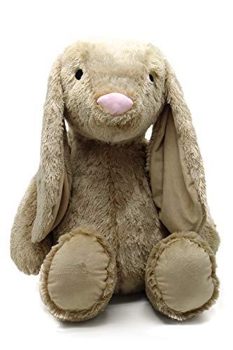 Auxo PLPT-Rab Plüschtier Kuscheltier Hase beige Madchen Junge XXL 88cm Baby Kinder Kissen