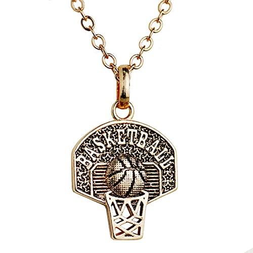 Dfngiq Fans Colgantes de Baloncesto de la NBA Sra. Sport Collar Basketball Board Colgante conmemorativo