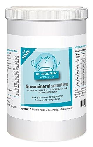 napfcheck Novomineral Sensitive - Mineralien und Vitamine für den empfindlichen Hund - 1000 g