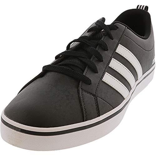 adidas Herren VS PACE Sneaker, Core Black, FTWR White, Scarlet, 46 EU