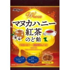 明産 マヌカハニー紅茶のど飴 81g×6入
