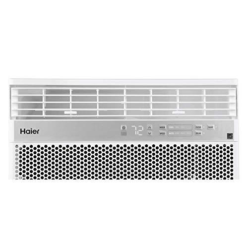Haier QHM06LX 6,150 BTU Energy Star Electric Air Conditioner with Remote, White