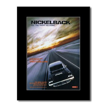 Music Ad World Nickelback - All The Right Reasons Mini Poster - 28.5x21cm