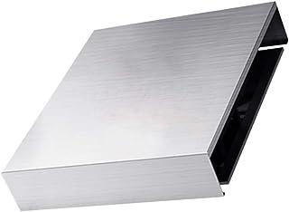 UPKOCH Stainless Steel Stove Burner Cover Clean Mat Pad Non-Stick Seasoning Storage Shelf Length 35cm Depth 45cm Height 7c...