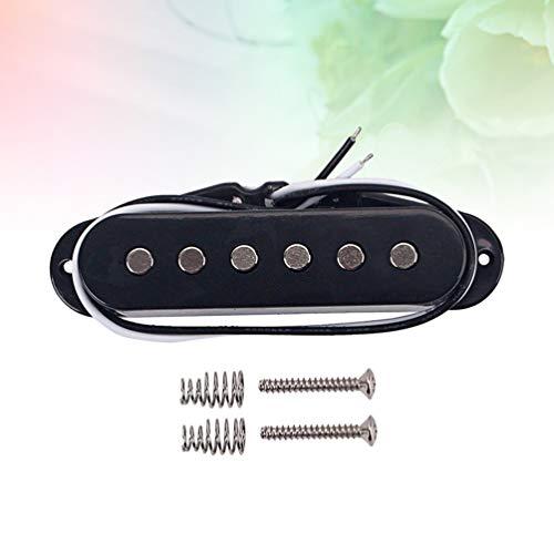 SUPVOX Guitarra bobina simple hot rai humbucker pastillas stratocaster squier telecaster guitarra eléctrica partes