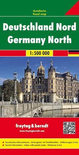 F&B Duitsland Noord: Wegenkaart 1:500 000