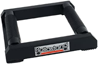 Hardline Products RS-00002 Rollastand for Metric Cruisers and Harley, Black