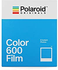 CLASSIC FILM: Polaroid Instant Color Film for 600 cameras and i-Type cameras with 8 classic iconic white framed photos. LIGHT IT UP: Polaroid Instant Film loves light. The more light in your shot, the better your photo will turn out. Always shoot in ...
