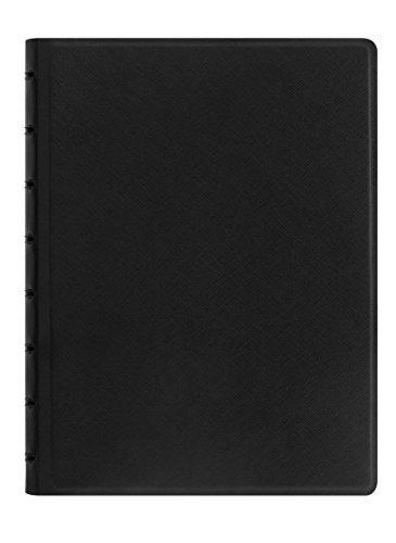 Filofax 115032 Notizblöcke A5 Saffiano, schwarz