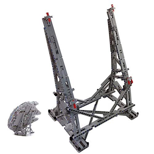 POXL Vertical Stand for ( Millennium Falcon) Modelos - Display Stand for Lego 75192 (Solo Párate)