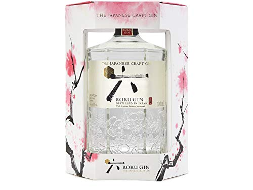 Roku Gin -The Japanese Craft Gin Limited Edition Gift Pack 1x70 Cl 43%