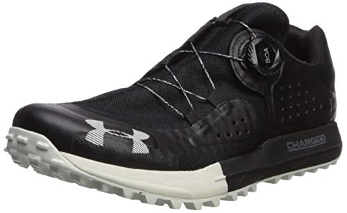 Under Armour Men's Syncline Hiking Shoe, Black (001)/Pitch Gray, 9