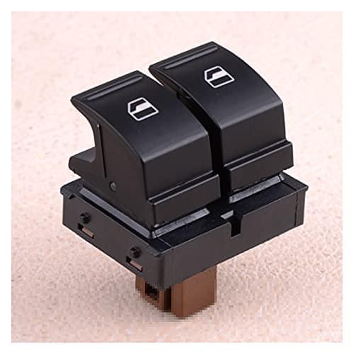 ZHIXIANG Nuevo botón de Interruptor de Ventana eléctrica en Forma para Skoda Fabia 2 Octavia 1Z Roomster 1Z0959858 Piezas duraderas