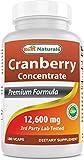 Best Cranberry Pills - Best Naturals Cranberry Pills 3x Concentrate Veggie Capsule Review