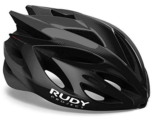 Rudy Project Rush Helm Black/Titanium Shiny Kopfumfang L | 59-62cm 2021 Fahrradhelm