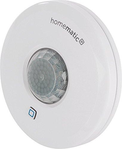 Homematic IP Smart Home Präsenzmelder – innen, intelligente, präzise Bewegungserkennung im smarten Zuhause, 150587A0