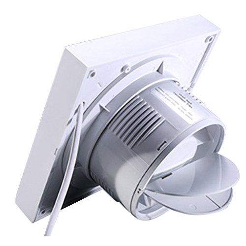 PETSOLA Ventilador Silencioso Extractor Ventiladores Extractores Ventilador Baño Cocina Hogar - 5 Pulgadas