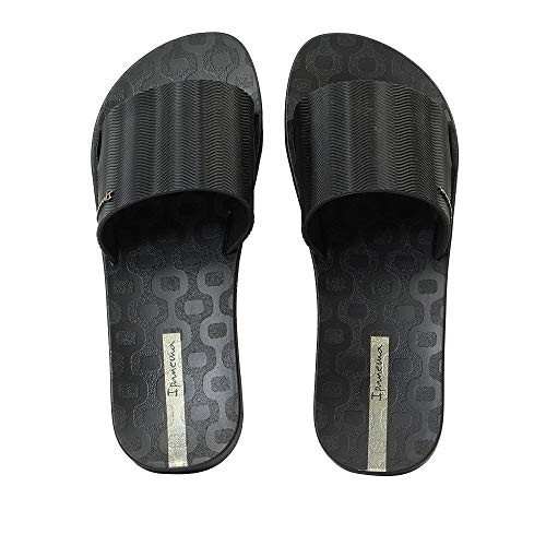Ipanema Way Slide Mujer Sandalias Negro