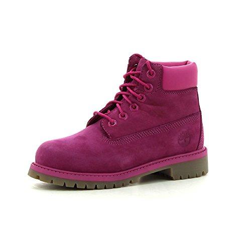 Timberland Damen 6 Inch Premium Junior Boots rot 38