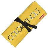 トンボ鉛筆 色鉛筆 36色 ロールケース入り ミニ削り器付き MJ-CRNQ36CQAAZ