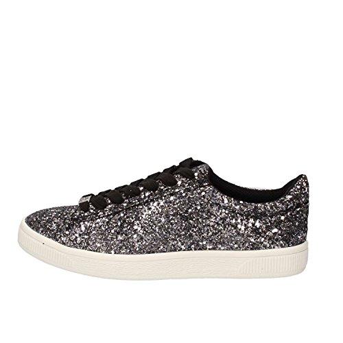 Fornarina Sneakers Damen Glitter Silber 36 EU
