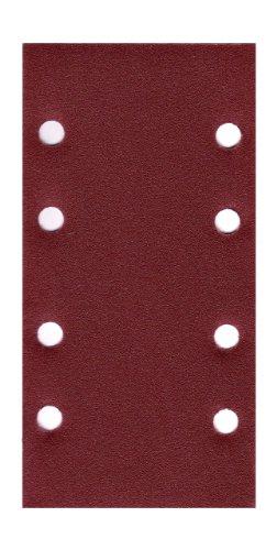 50x Schleifpapier 93 x 184 mm 8 Loch Körnung 40-180 Schleifblatt Schwingschleifer (50x Körnung 120)