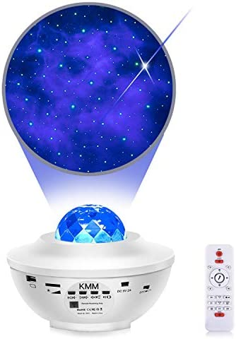 Star Projector Night Light Projector with Galaxy Ocean Wave Projector Bluetooth Music Speaker product image