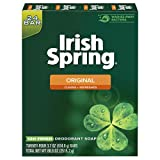 Irish Spring Men's Deodorant Soap Bar, Original Scent - 3.7 ounces (24 Count)