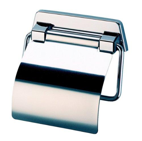Geesa Toilettenpapierhalter mit Edelstahldeckel, Hotel Collection, G00005144