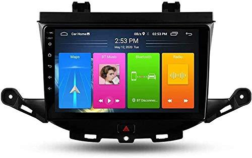 WXHHH Android 9.0 Autoratore Stereo Doppia DIN per Opel Astra K 2015-2019 GPS 9 Pollici Touch Screen MP5 Video Media Player Ricevitore con 4G DSP Carplay,4g+WiFi:4+64
