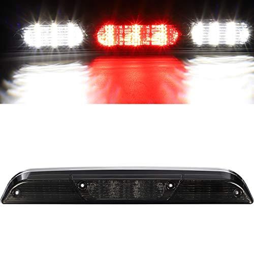 파삼 하이 마운트 스톱 라이트 리드 3차 브레이크 라이트 교체 F150 2015-UP   17-UP F250 F450 F550   19-UP 레인저 후방 캡 센터 마운트 브레이크 스톱 테일 라이트 카고 램프(크롬 연기)
