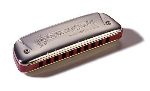 Armónica Hohner Golden Melody, clave de do
