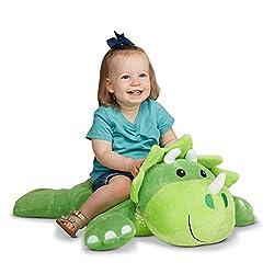 1. Melissa & Doug Cuddle Dinosaur