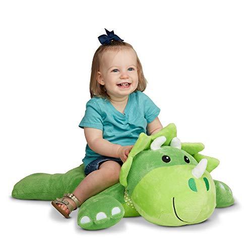 Melissa amp Doug Cuddle Dinosaur Jumbo Plush Stuffed Animal with Activity Card