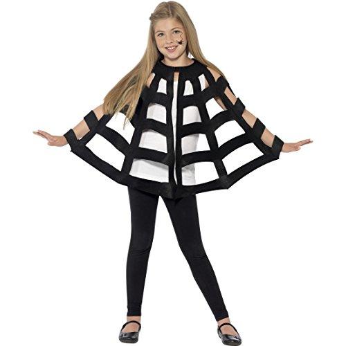 NET TOYS Costume Enfants Araignée | Cape d'halloween | Mante Tarentule | Accessoire Costume Halloween