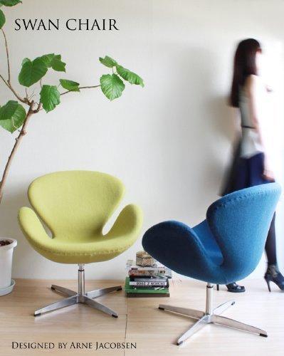 SWANCHAIRスワンチェア(ファブリック)ライトブルー【デザイナー:アルネ・ヤコブセン】【ダイニングチェア】【椅子】【ソファ】【ファブリック】【高品質】【低価格】【リプロダクト・ジェネリック・復刻版】