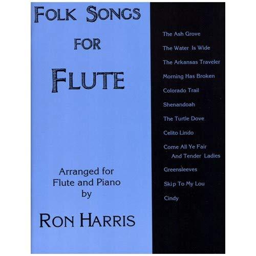 Carl Fischer Folk canciones para flauta