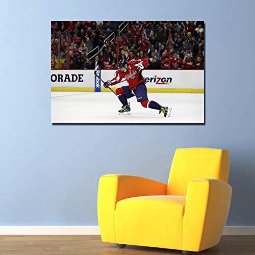 EPSMK Fototapete Eishockey Poster Wandkunst Leinwandbilder Dekorative Gemälde für Wohnkultur 24x28inch