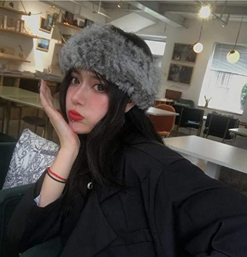 Haarband Faux Bont hoed Vrouwelijke Herfst en Winter Warm Headdress Hoofddeksels Hoofdband Hoofdband Pluche Haarband