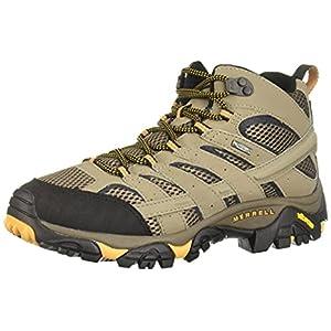 Merrell Men's Moab 2 Mid Gtx Hiking Boot, Walnut, 11 M US