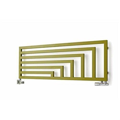 SCALDASALVIETTE Horizontal Angus, di alta qualità, design Termosifone, disponibile in diverse dimensioni e colori, 360h x 1140b