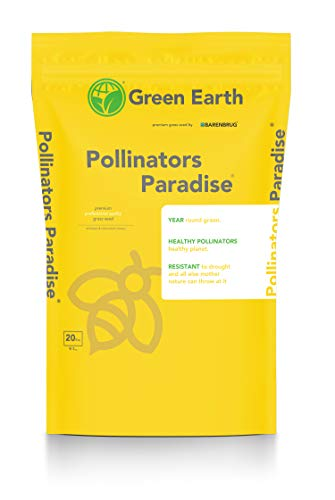 Barenbrug Green Earth Pollinator's Paradise Professional Grass Seed Mix, 20 lbs.